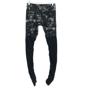Alo Yoga Goddess Leggings Pants Printed Medium